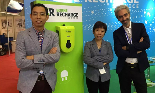 BRS-China brings charging solution to E-car on Zhongshan Equipment Exhibition